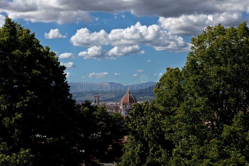 Duomo Florencia, Firenze, Toscany, Italia de la cópula fotografía de archivo libre de regalías