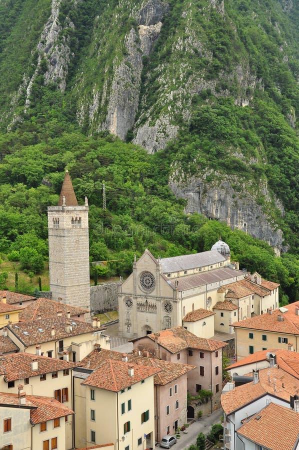 Duomo Gemona, Friuli Venezia Giulia, Ιταλία στοκ εικόνα με δικαίωμα ελεύθερης χρήσης