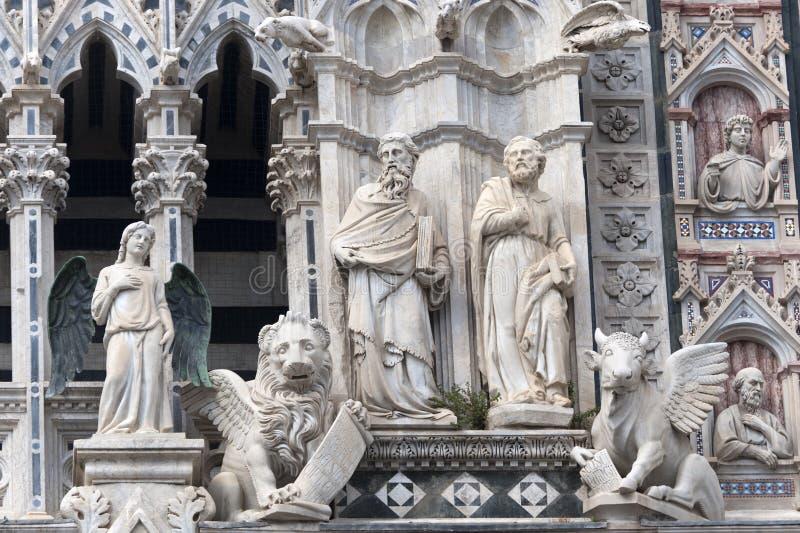 duomo Italy Siena Tuscany obraz royalty free