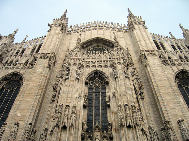 Duomo-Kathedrale â Mailand, Italien stockbild