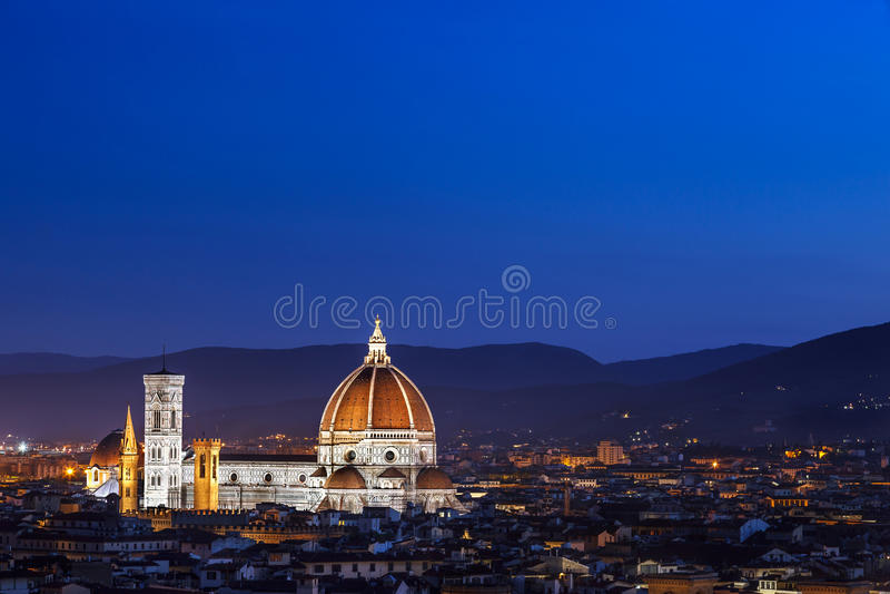 Duomo-Kathedrale Florenz Italien lizenzfreie stockbilder