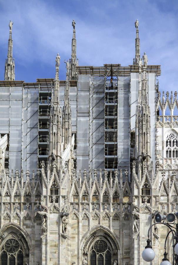Duomo Mailands, IL stockbild