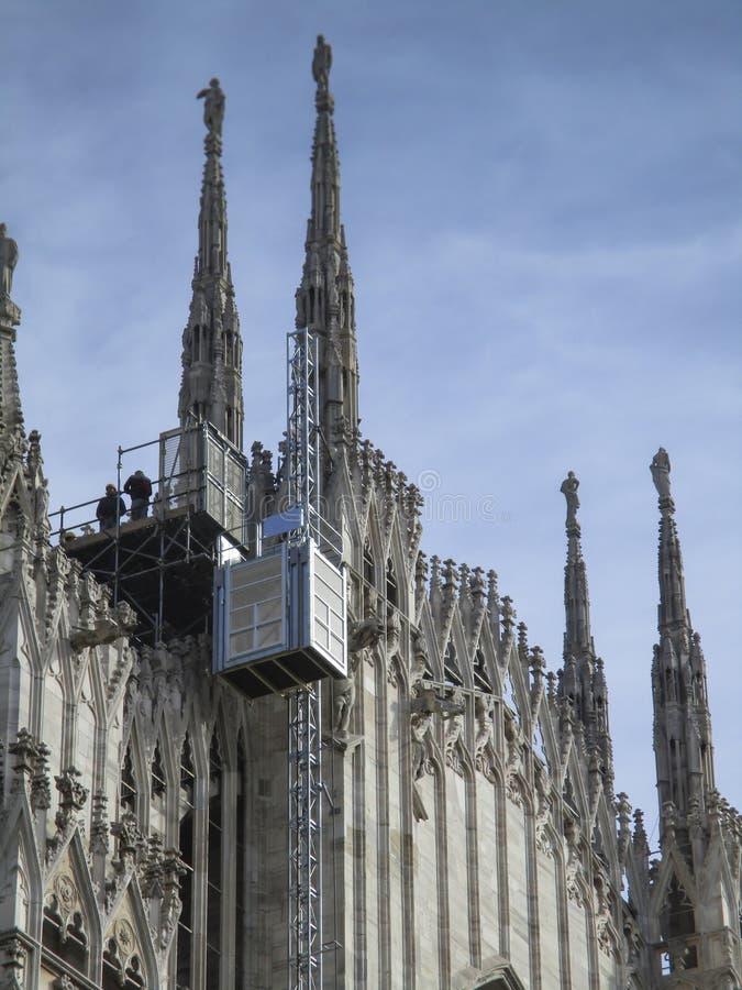 Duomo Mailands, IL stockfotografie