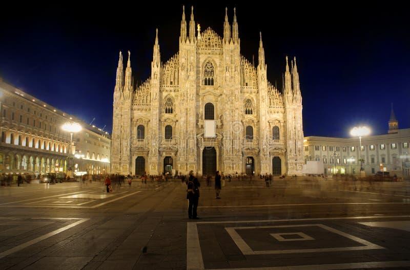 Duomo, Milaan stock foto's