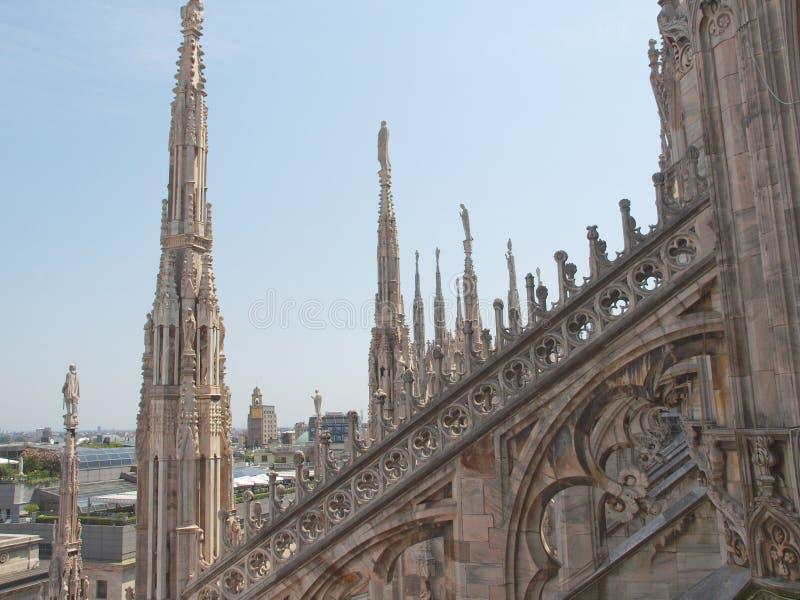 Download Duomo, Milaan stock afbeelding. Afbeelding bestaande uit midden - 39115865