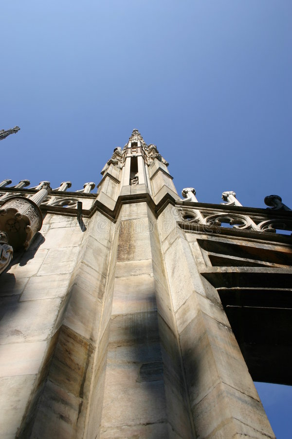 Duomo, Milaan stock afbeeldingen
