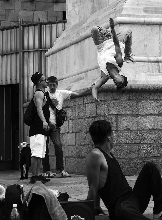 Free Duomo Milan Breakdance On The Streets Stock Photos - 109064873