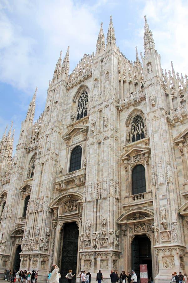 duomo Milan de cathédrale images stock