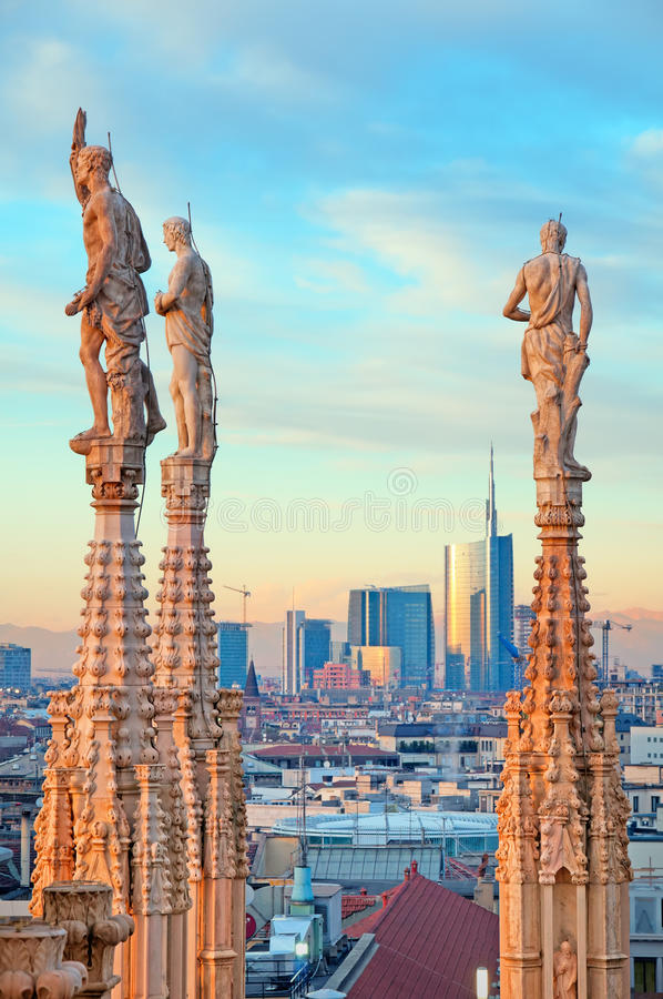 Download Duomo of Milan - Italy stock image. Image of building - 22679275