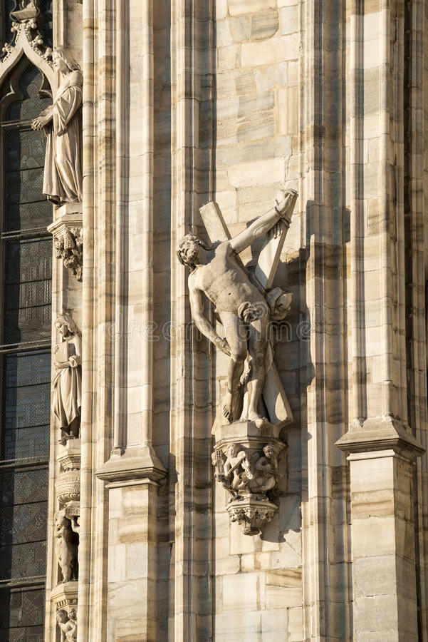 Download Duomo of Milan, statues stock image. Image of cathedral - 29170687
