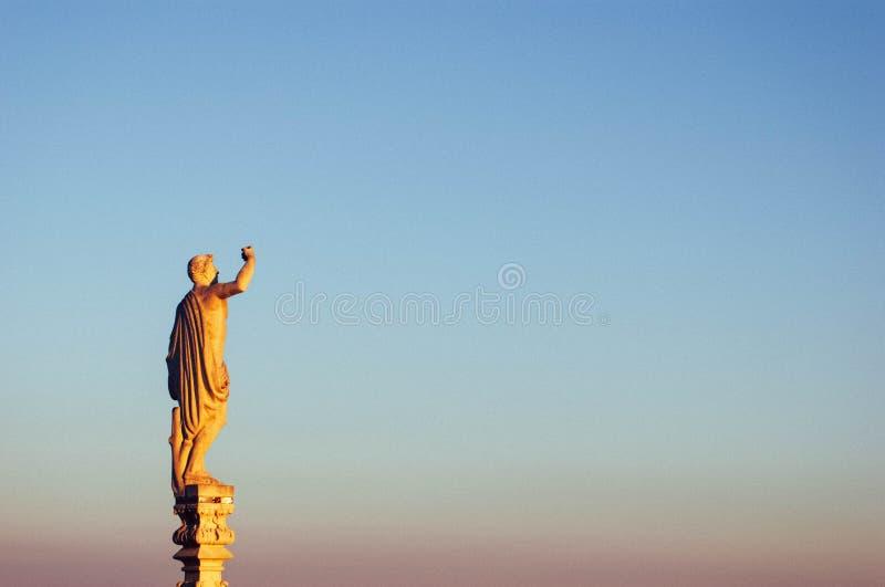 Duomo Milano della cattedrale della scultura immagini stock