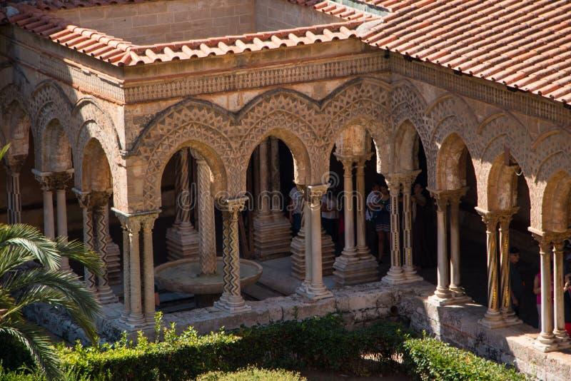Duomo Monreale fotografía de archivo libre de regalías