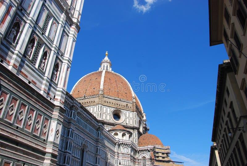 Duomo på florence royaltyfri foto