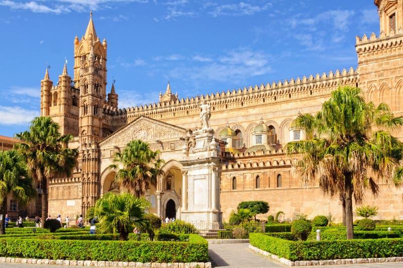 Duomo - Palermo fotografia stock