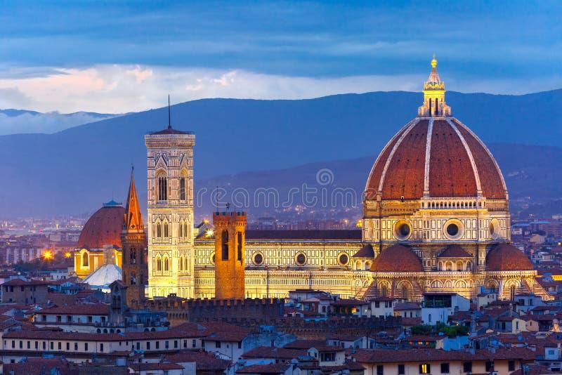 Duomo Santa Maria Del Fiore in Florenz, Italien stockbild