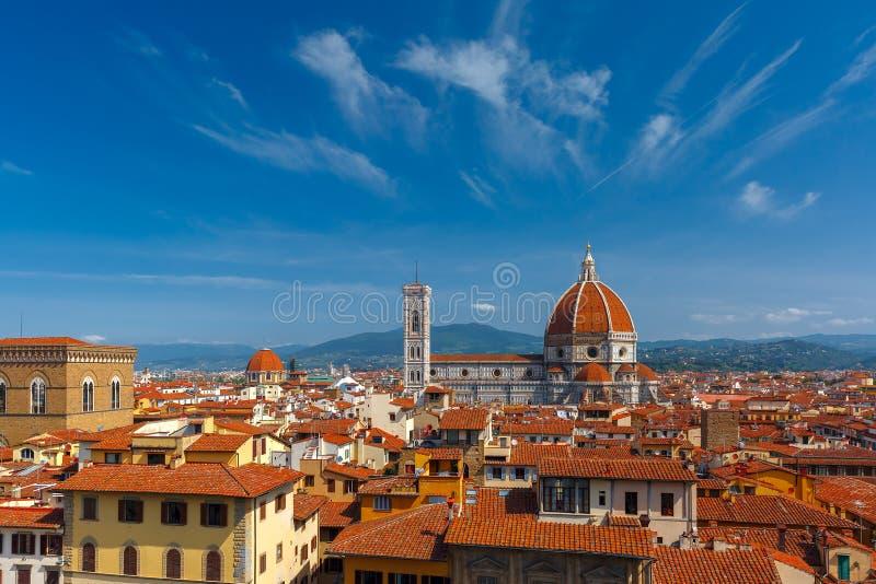 Duomo Santa Maria Del Fiore i Florence, Italien royaltyfri bild