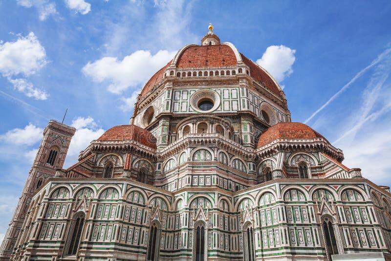 Duomo, Santa Maria Del Fiore w Florencja Włochy Tuscany obrazy royalty free