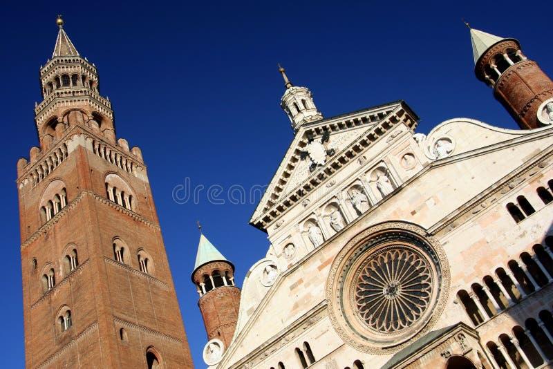 Duomo and torrazzo, cremona, italy