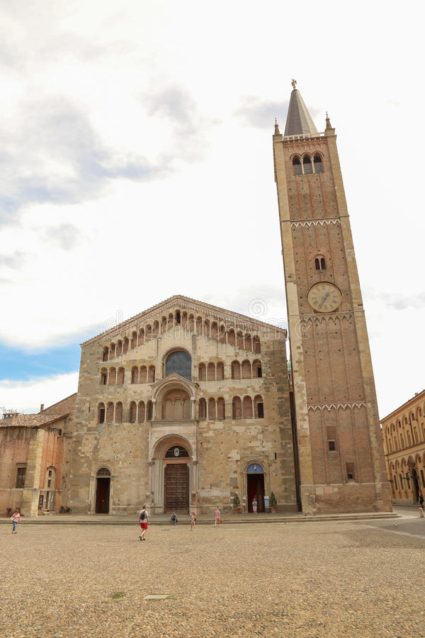 Duomo van Parma royalty-vrije stock afbeelding
