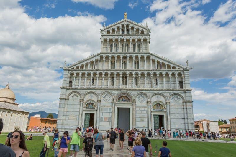Duomo van Pisa stock afbeelding