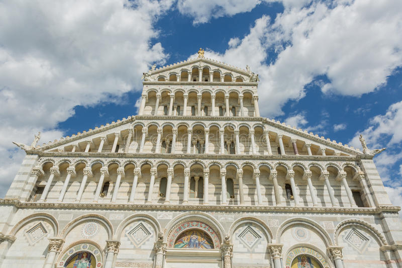 Duomo van Pisa royalty-vrije stock foto