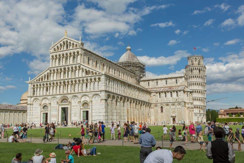 Duomo van Pisa royalty-vrije stock fotografie