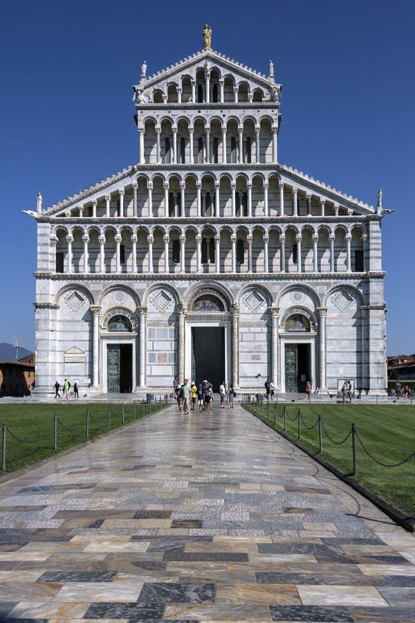 Duomodi Pisa - Pisa - Italië royalty-vrije stock afbeelding