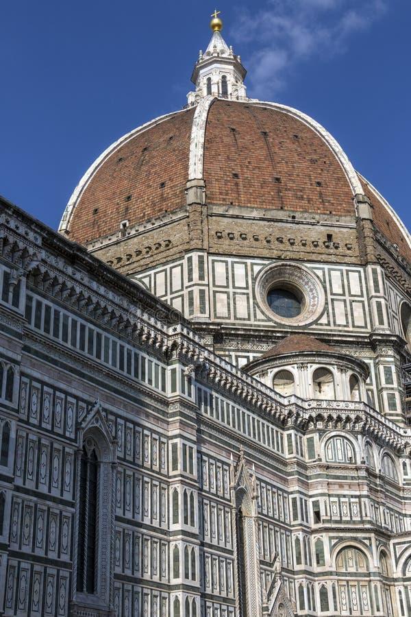 Duomoen - Florence - Italien arkivbilder