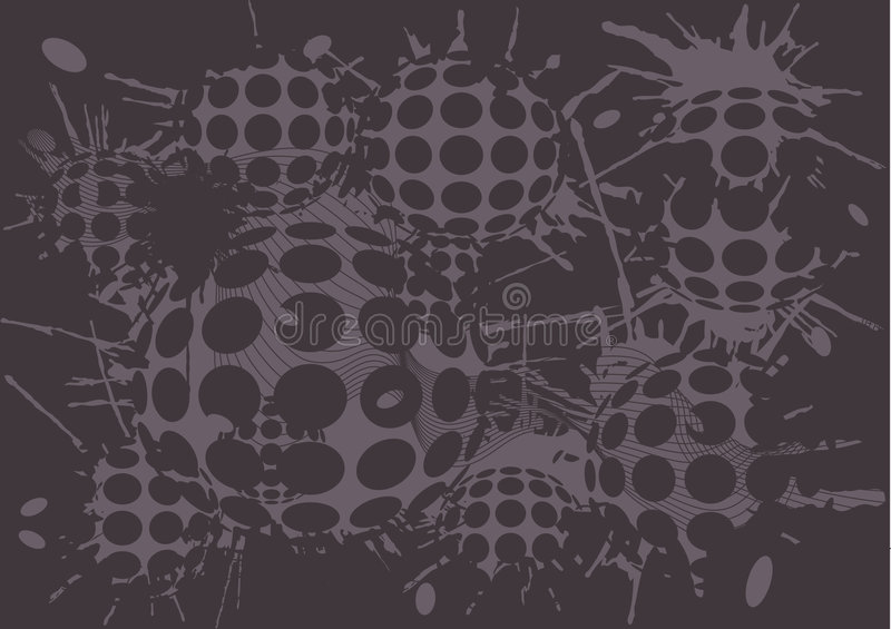 Download Duoton Background Blot Balls Stock Vector - Image: 8482103