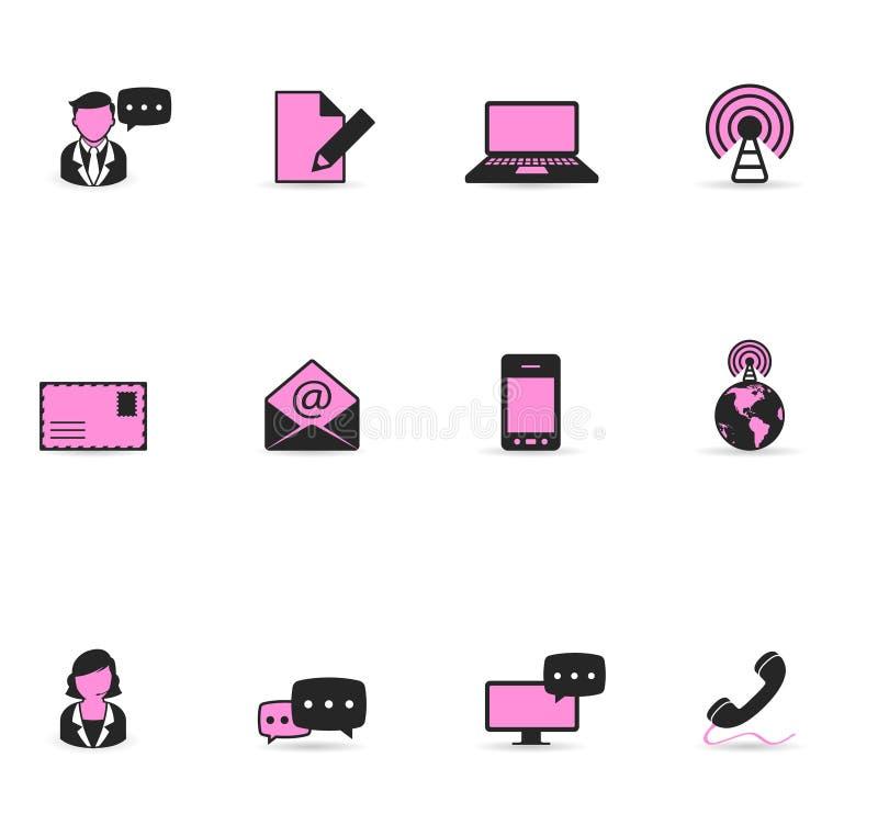 Duotone Icons - Communication stock illustration