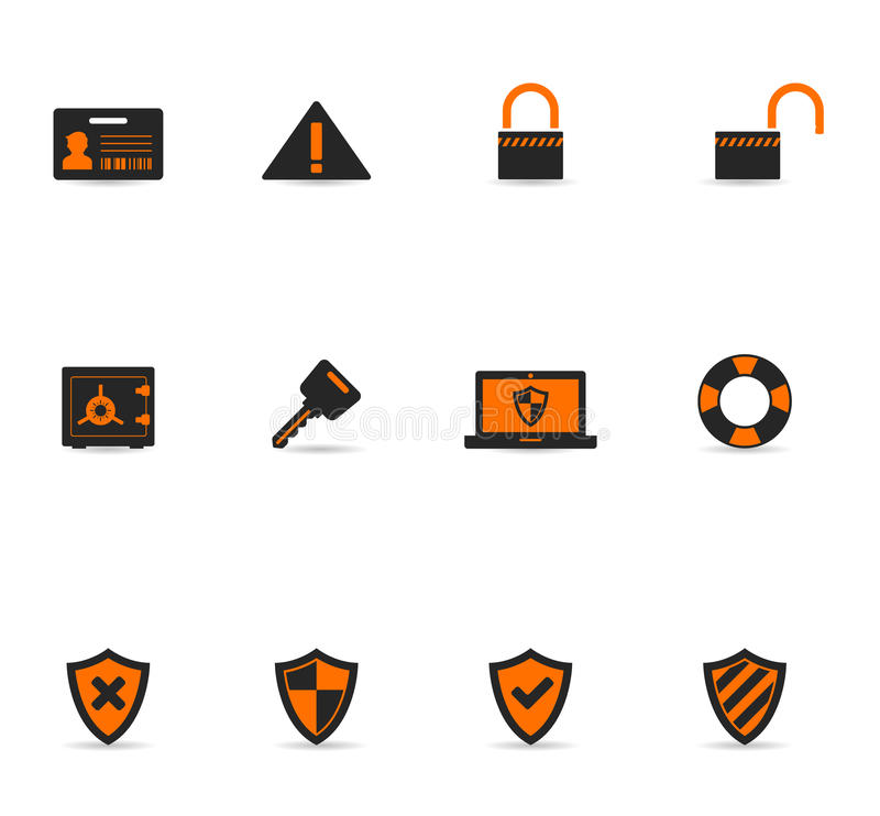 Duotone Icons - Security stock illustration