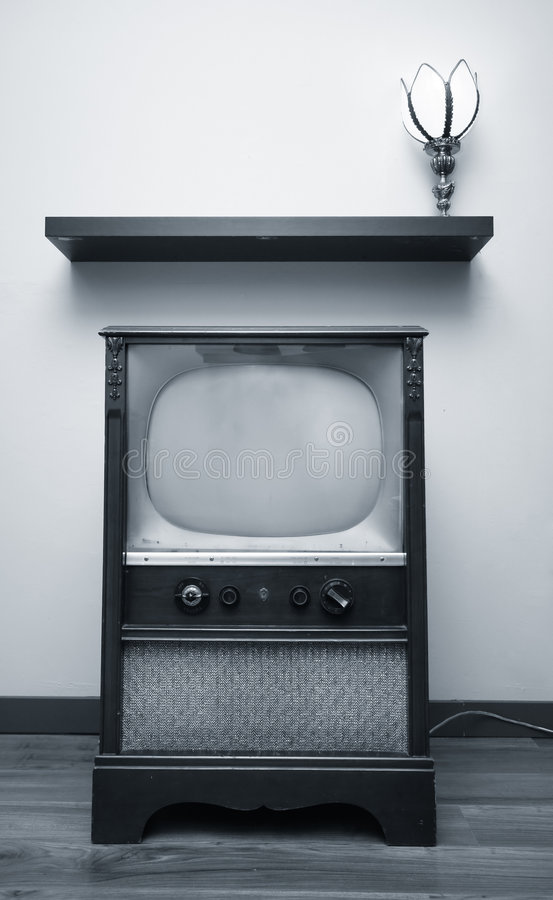 Free Duotone TV Royalty Free Stock Image - 3927946