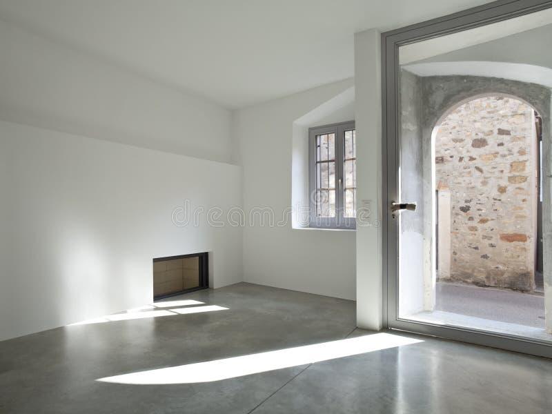 duplex do sotão, interior fotos de stock royalty free