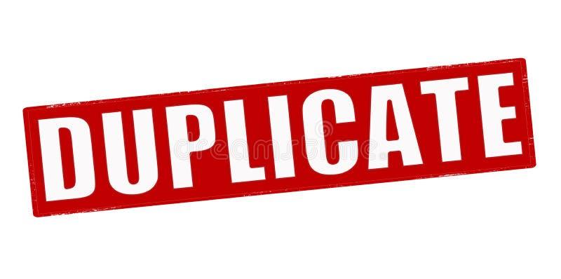 duplicate stock illustrationer