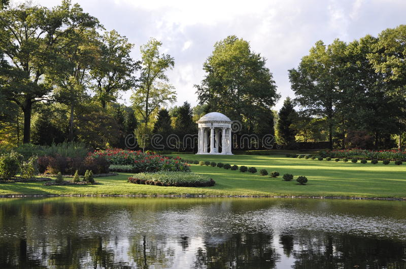 DuPont Mansion and Gardens stock images