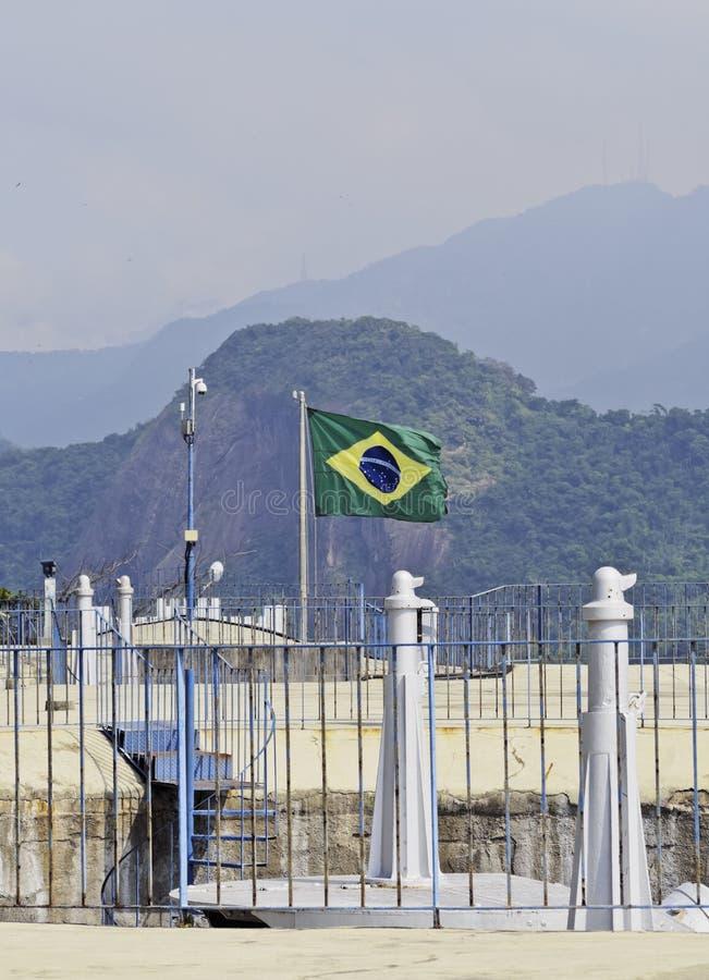 Duque De Caxias Fort w Rio De Janeiro zdjęcia stock