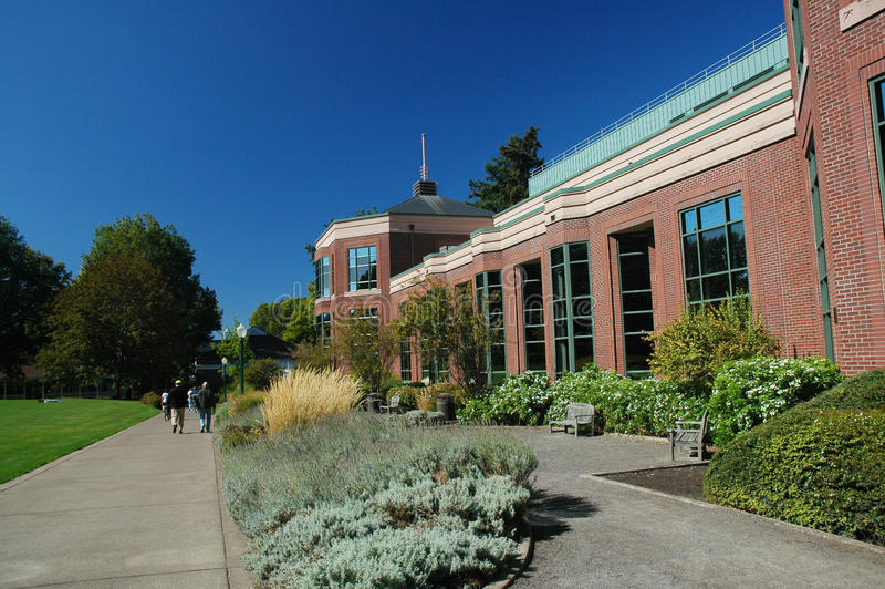 Durée de campus photo stock