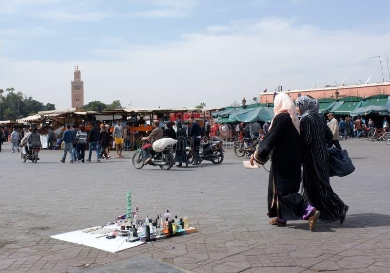 Durée de Marrakech image stock