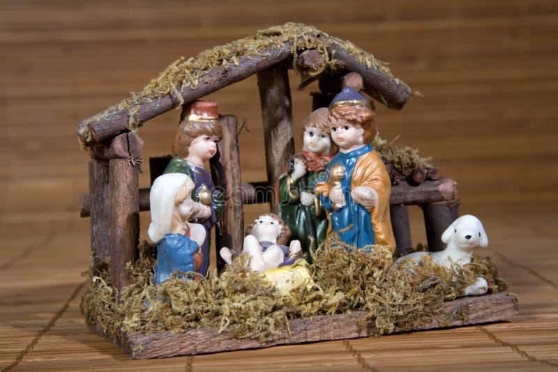 Durée de Noël avec Bethlehem traditionnel image libre de droits