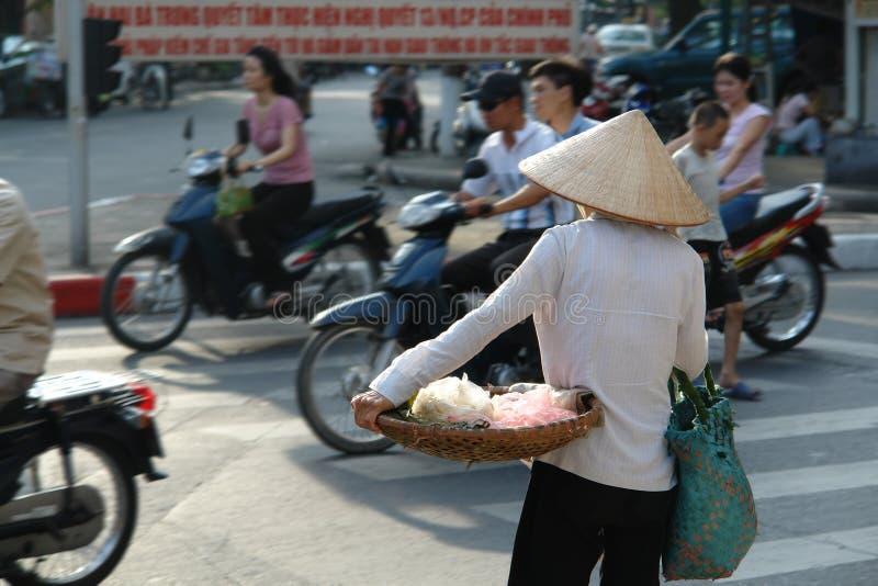 Durée de rue vietnamienne image libre de droits