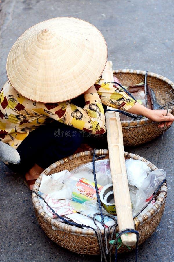 Durée de rue vietnamienne images libres de droits