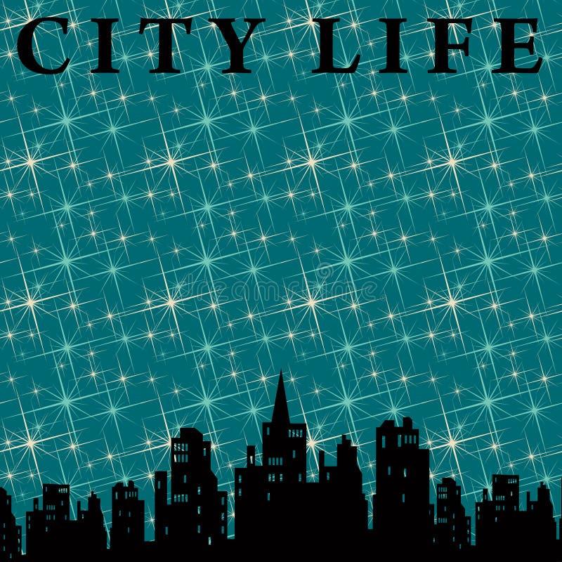 Durée de ville illustration libre de droits