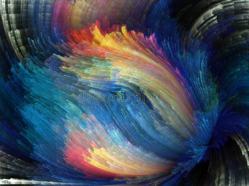 Durée intérieure de couleur photo libre de droits