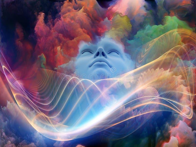 Durée intérieure de rêve illustration libre de droits
