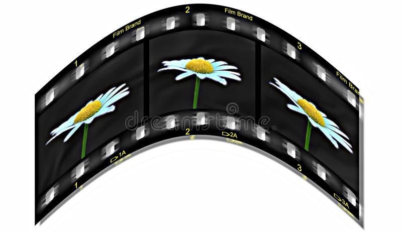 Durée sur le film photo stock
