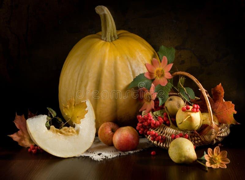 Durée toujours avec des fleurs d'automne images stock
