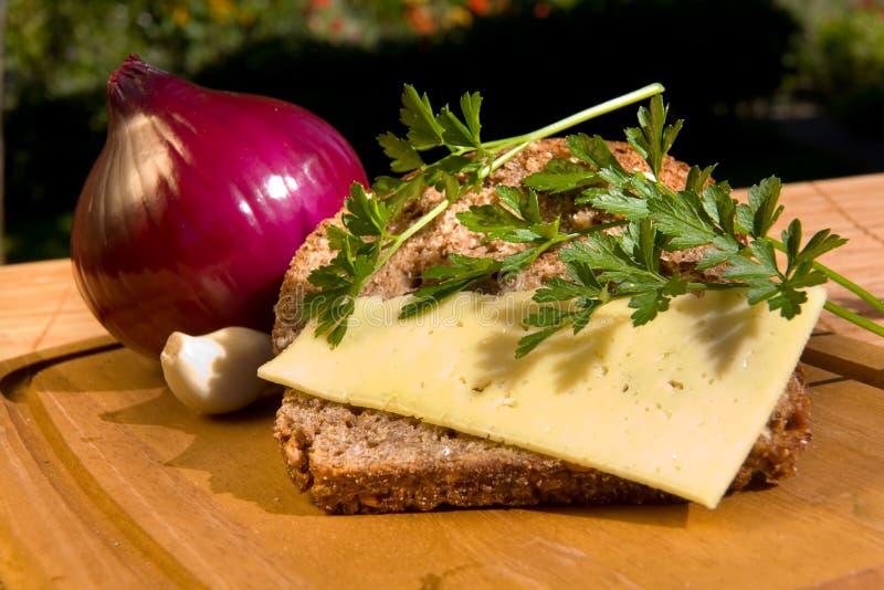 Durée toujours avec du fromage image libre de droits