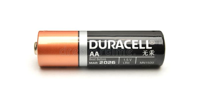 Duracell stock photography