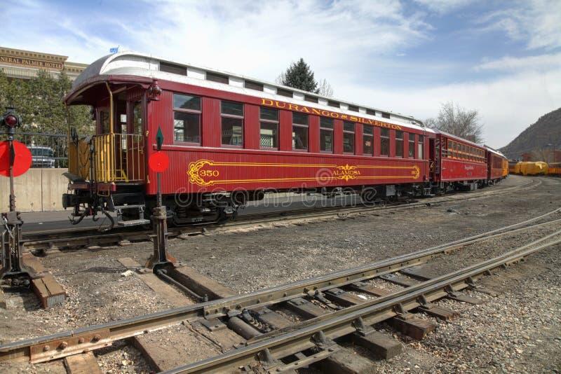 Durango e estrada de ferro de Sliverton imagens de stock