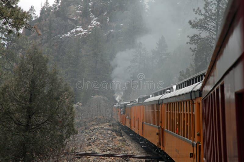Durango et chemin de fer de Sliverton photographie stock